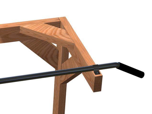 Homemade chin up bar how to build a home gym diy guide