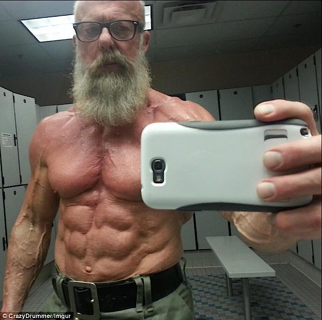 Gaining muscle mass after 50