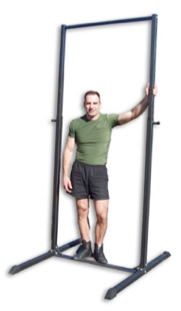 Free standing pull up bars free standing chin up bars 2015 for Free standing bar plans